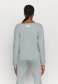 Puma - PAMELA REIF X PUMA COLLECTION OVERLAY CREW - Camiseta de manga larga - quarry - 2