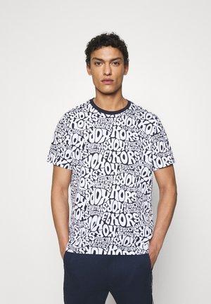 BUBBLE TEE - T-shirt med print - midnight
