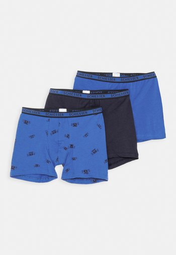 KIDS 3 PACK - Boxerky - blue