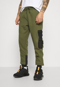 STAPLE PIGEON - TACTICAL - Tracksuit bottoms - olive - 0