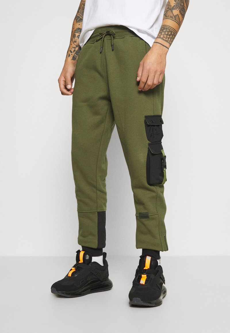 STAPLE PIGEON - TACTICAL - Tracksuit bottoms - olive