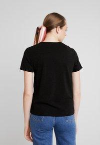 JDY - Print T-shirt - black/black - 2