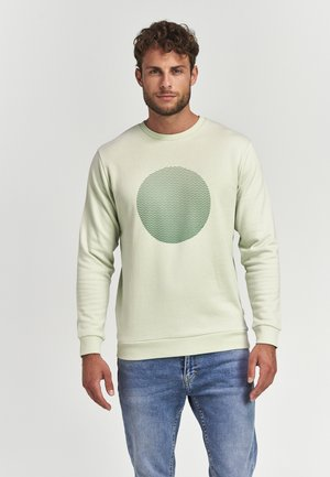GRADIENT DOT  - Sweater - minty pistache green