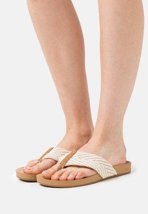 CUSHION STRAND - Sandály s odděleným palcem - vintage