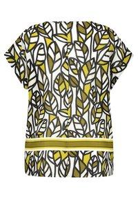 Samoon - mit Blätter-Print - Blouse - citronella gemustert - 3