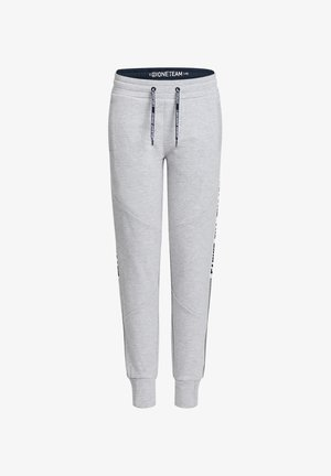 MET TAPEDETAIL - Tracksuit bottoms - grey