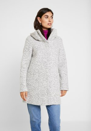 COAT - Kurzmantel - grey black