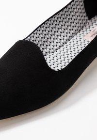 Repetto - NEVE - Nazouvací boty - noir - 2