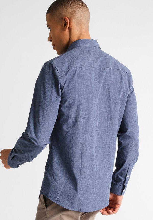 Pier One Koszula - blue/niebieski Odzież Męska LATE