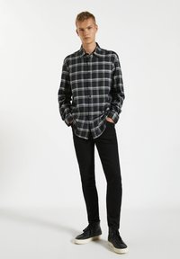 PULL&BEAR - Shirt - black - 1