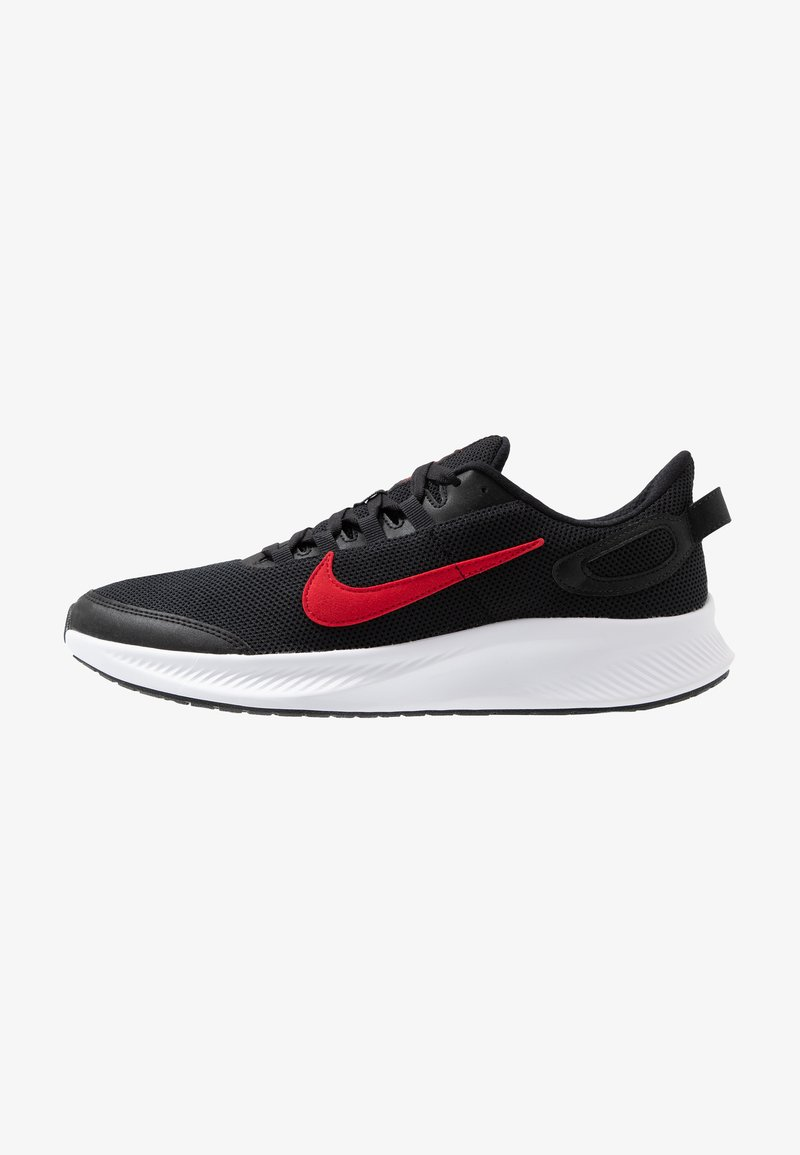 Nike Performance - RUNALLDAY 2 - Neutral running shoes - black/university red/white