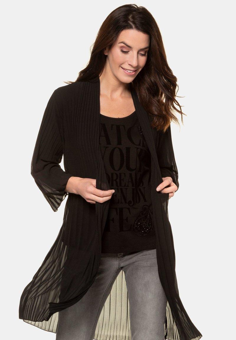 GINA LAURA - Summer jacket - schwarz