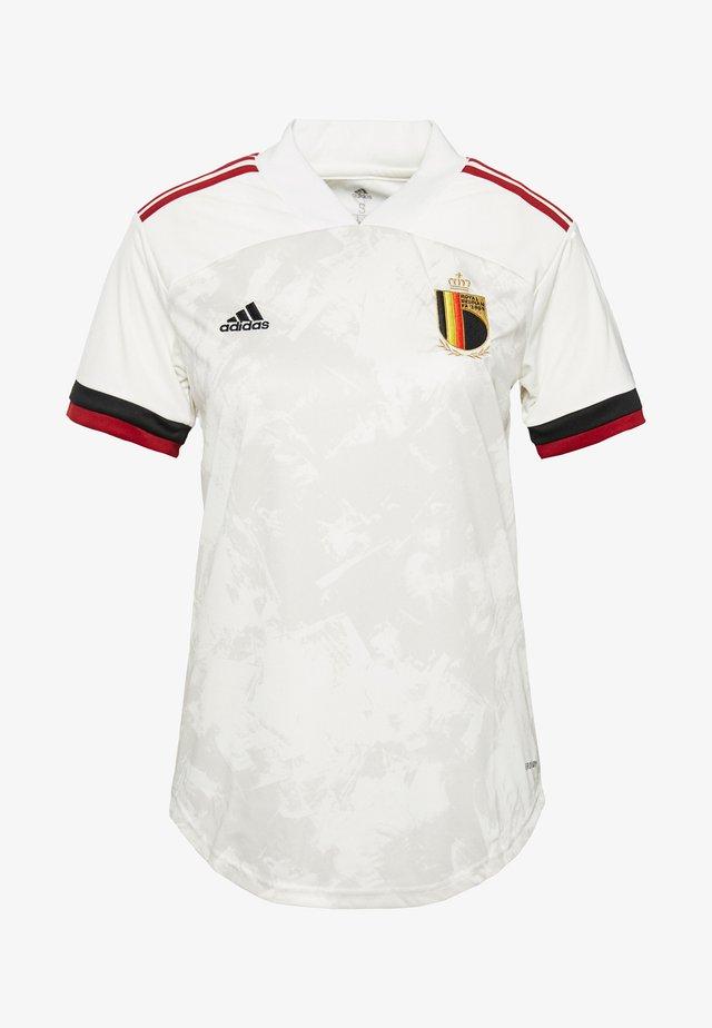 RBFA BELGIEN A JSY W - Voetbalshirt - Land - owhite