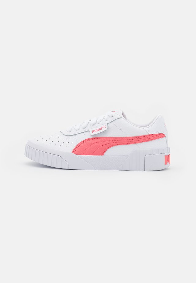 CALI - Sneakers basse - white/sun kissed coral