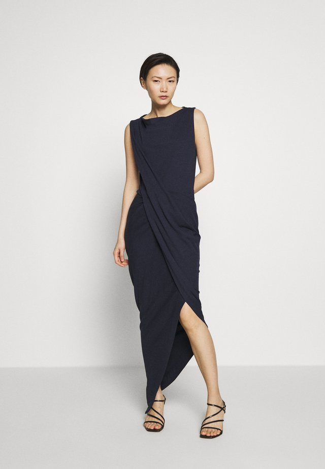 VIAN DRESS - Robe longue - navy