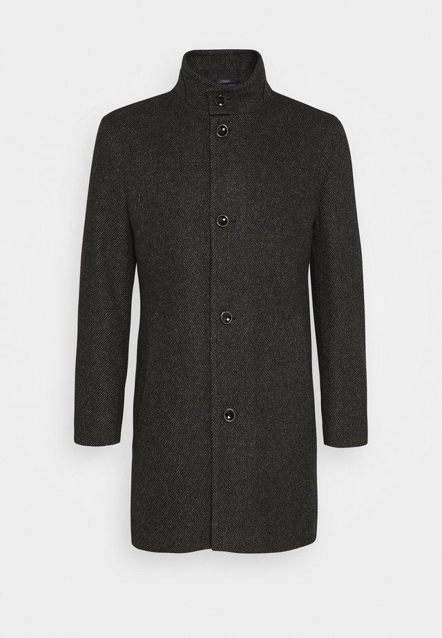 Halflange jas - dark grey