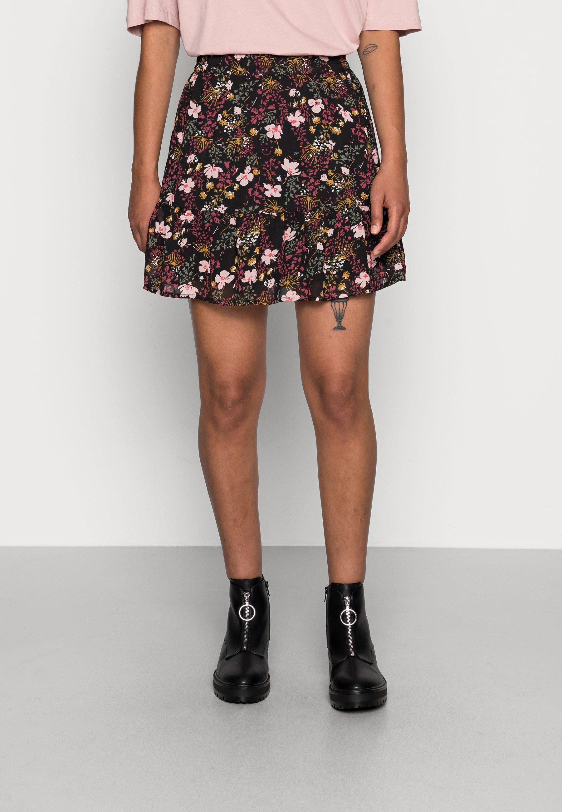 Women ONLSTAR SHORT SKIRT - A-line skirt