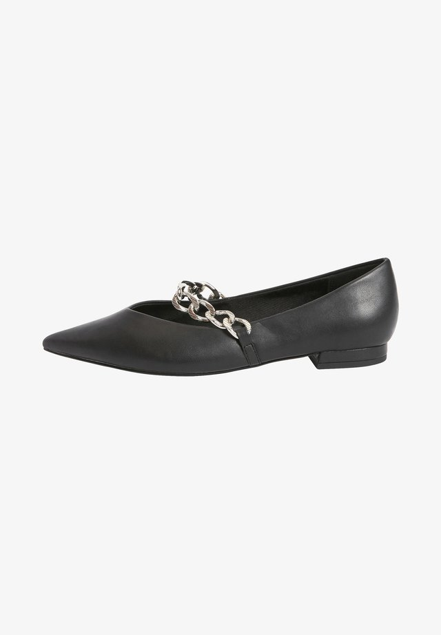 CHAIN DETAIL - Ballerina's - black
