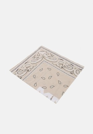 AFTERMATH PRINT BANDANA UNISEX - Huivi - cream
