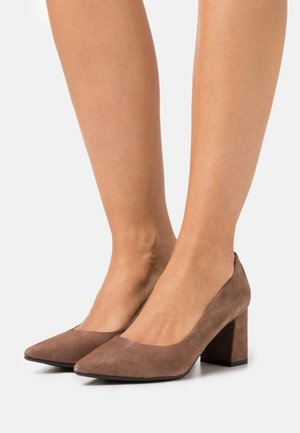 MILENA - Classic heels - taupe