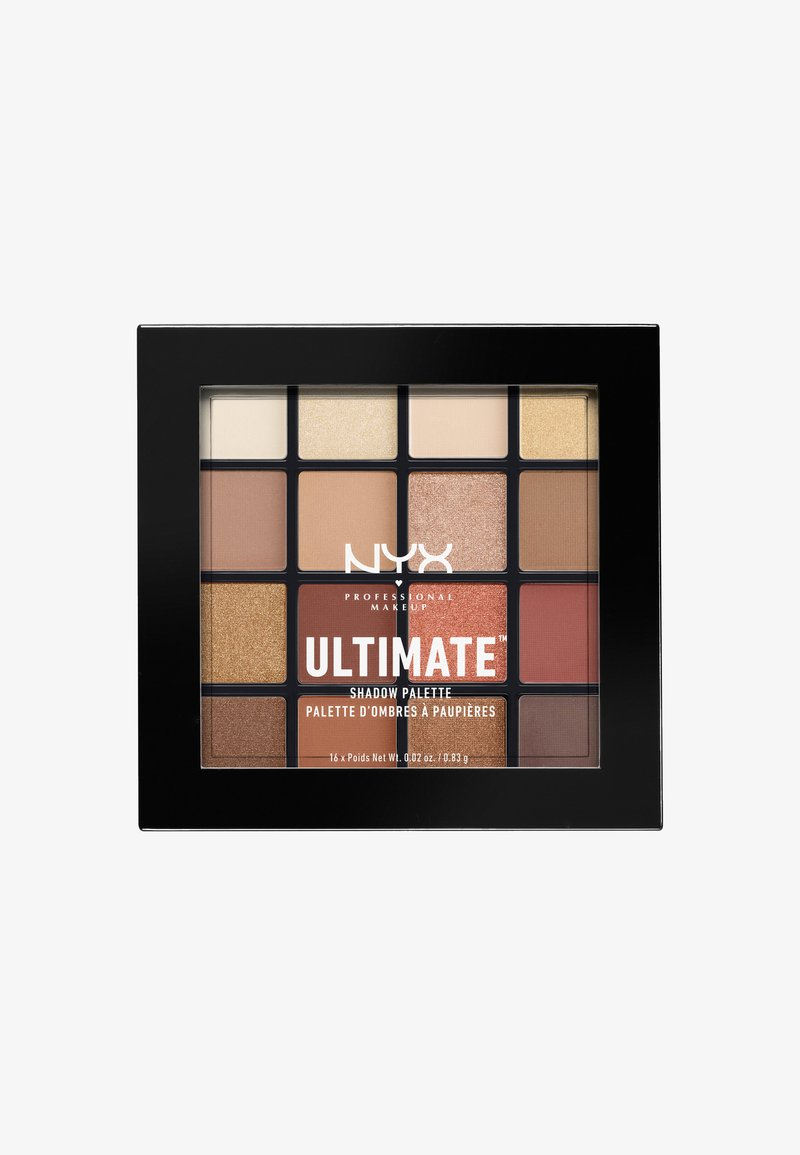 Nyx Professional Makeup - ULTIMATE SHADOW PALETTE - Lidschattenpalette - 3 warm neutrals