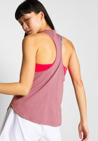 adidas Performance - TANK  - Top - purple