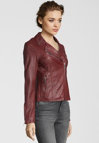 Apple of Eden - GHOST - Leather jacket - red - 2