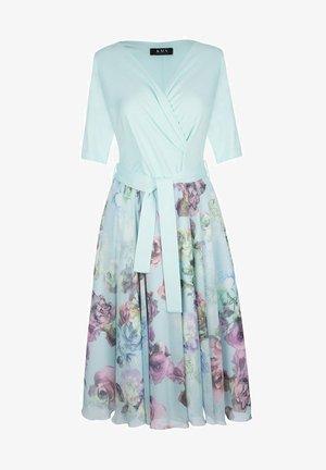 Sukienka letnia - turkusowy