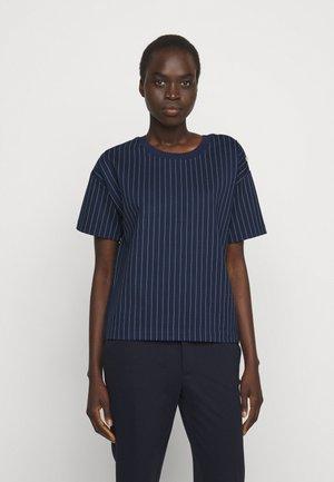 Print T-shirt - french navy/pale