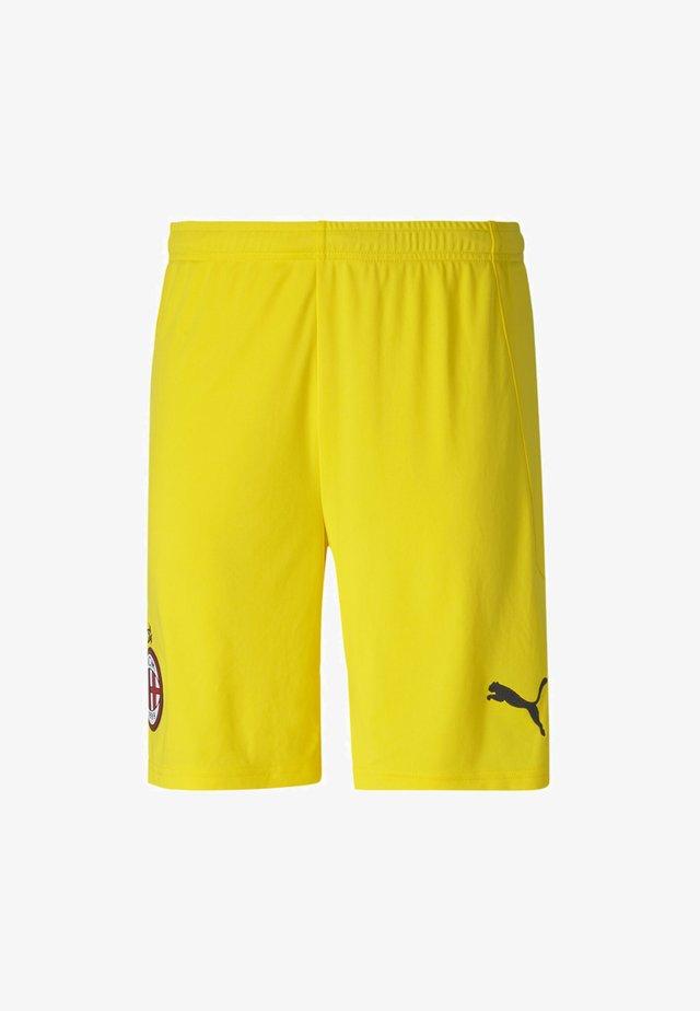 Sports shorts - cyber yellow