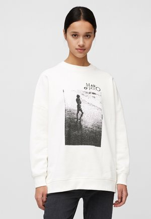 Sweatshirt - paper white