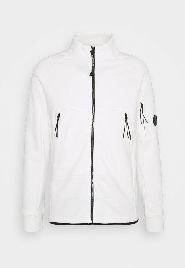 veste en sweat zippée - gauze white
