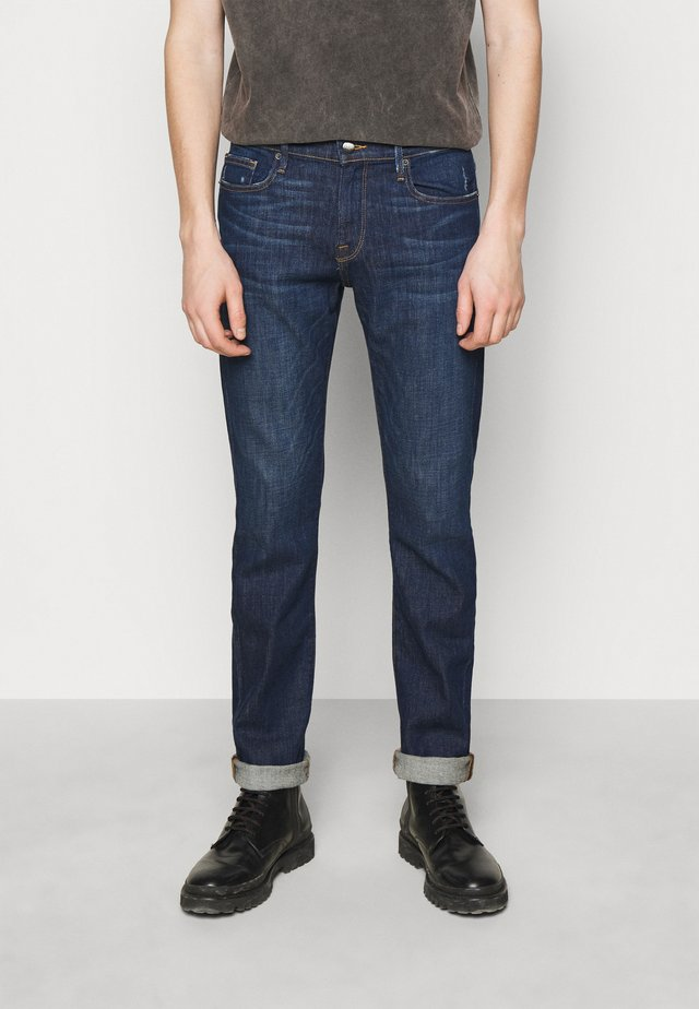 HOMME - Straight leg jeans - niagra