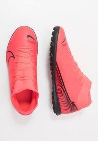 Nike Performance - MERCURIAL 7 CLUB TF - Korki Turfy - laser crimson/black - 1