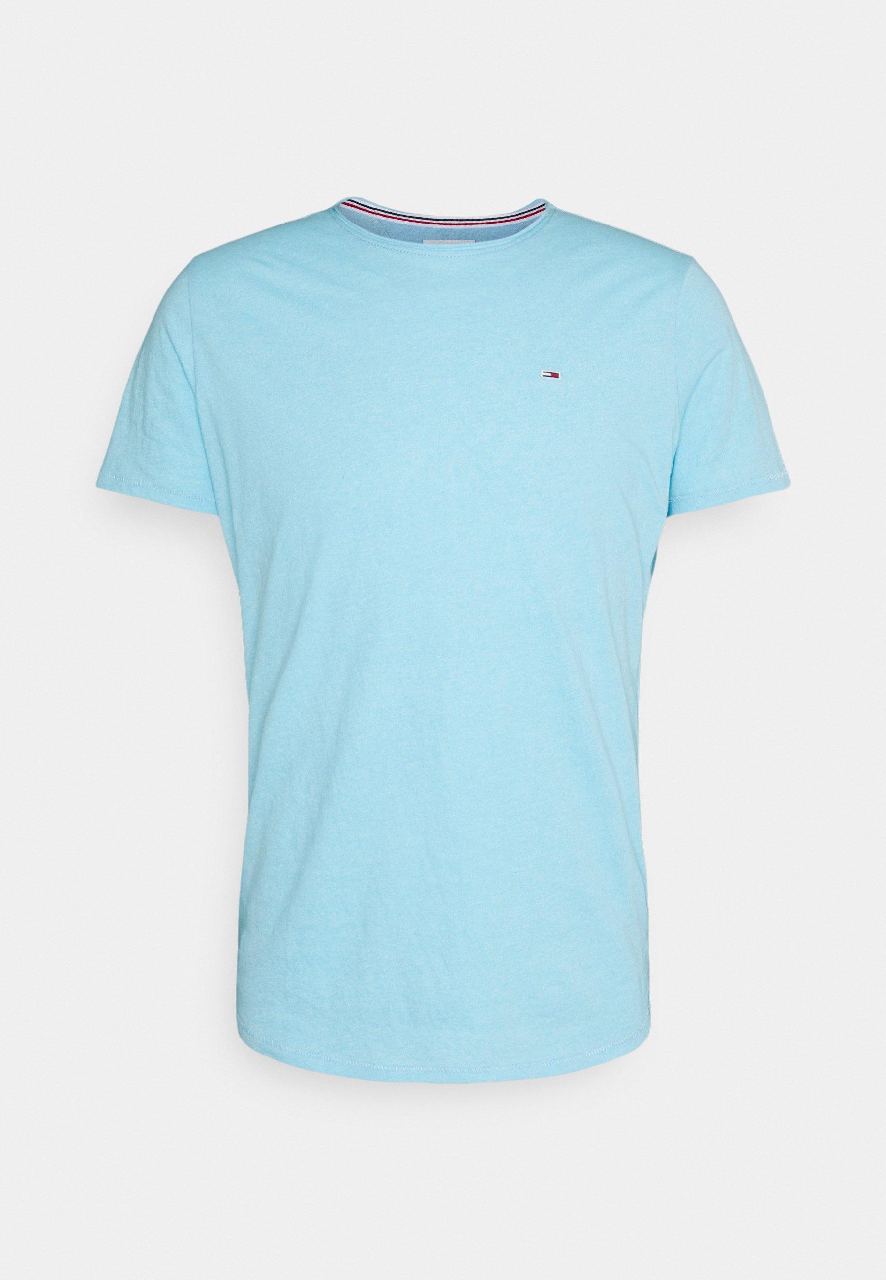 Uomo SLIM JASPE C NECK - T-shirt basic