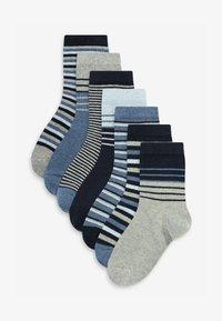Next - 7 PACK - Socks - blue - 0