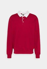 Weekday - RON RUGGER - Sweatshirt - red medium - 3