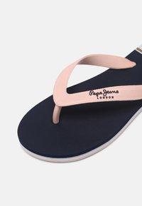 Pepe Jeans - BAY BEACH WOMAN - T-bar sandals - navy - 7