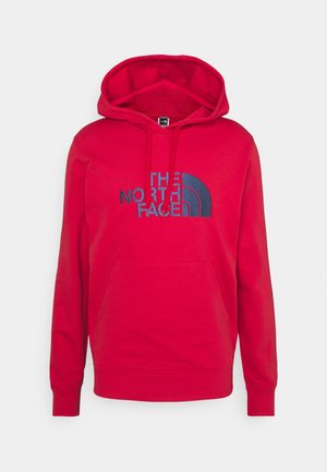 MENS LIGHT DREW PEAK HOODIE - Luvtröja - rococco red