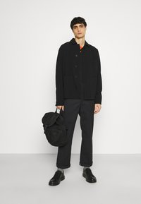Schott - PSMILTON - Polo shirt - black/orange - 1