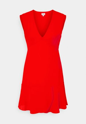 KATE - Korte jurk - mars red