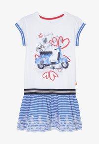 Lemon Beret - SMALL GIRLS DRESS - Robe en jersey - optical white - 3