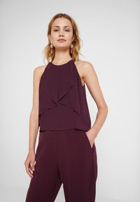 s.Oliver BLACK LABEL - OVERALL - Jumpsuit - soul cherry - 3