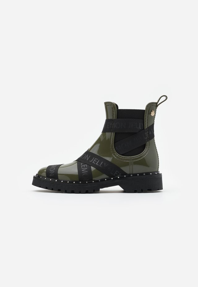 FRANKIE - Wellies - military green