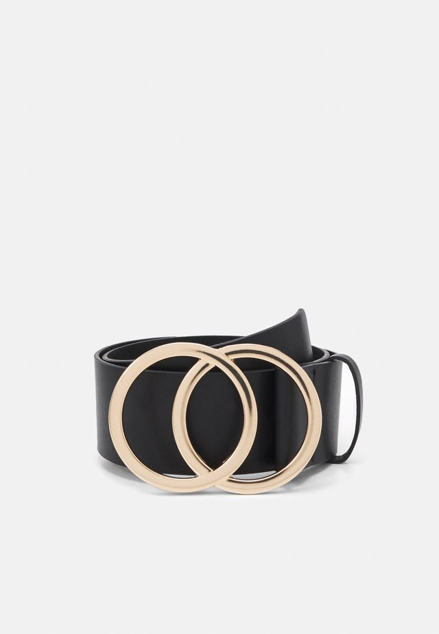 PCKAREN WAIST BELT - Pasek - black/gold
