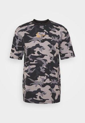 SMALL SIGNATURE CAMO TEE - T-shirt imprimé - black