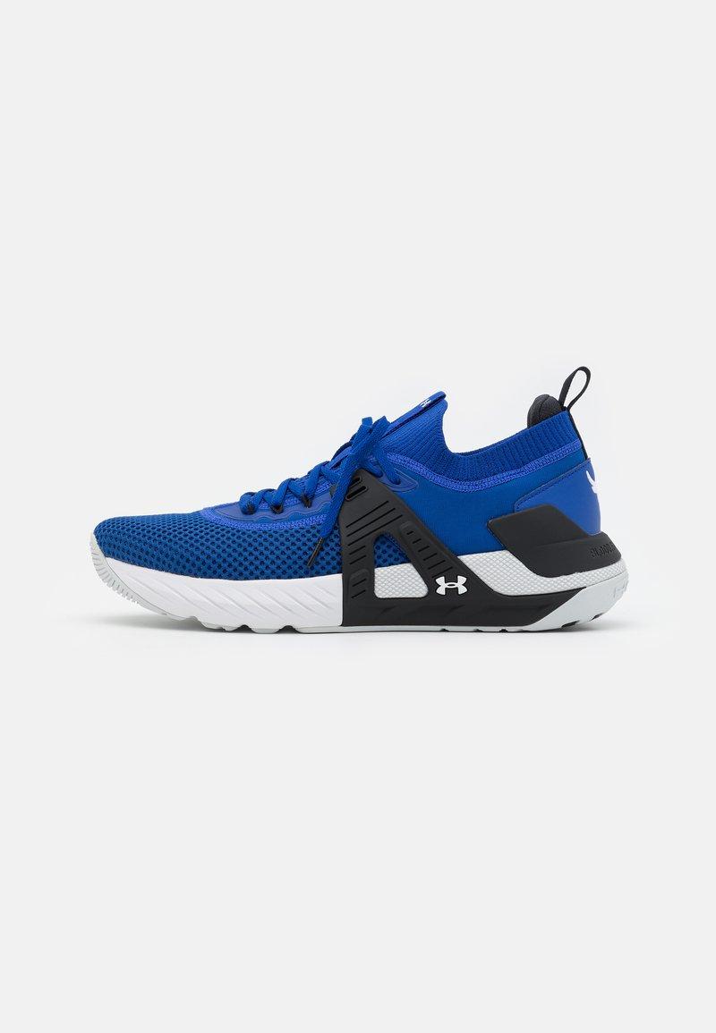 Under Armour - PROJECT ROCK 4 - Scarpe da fitness - blue