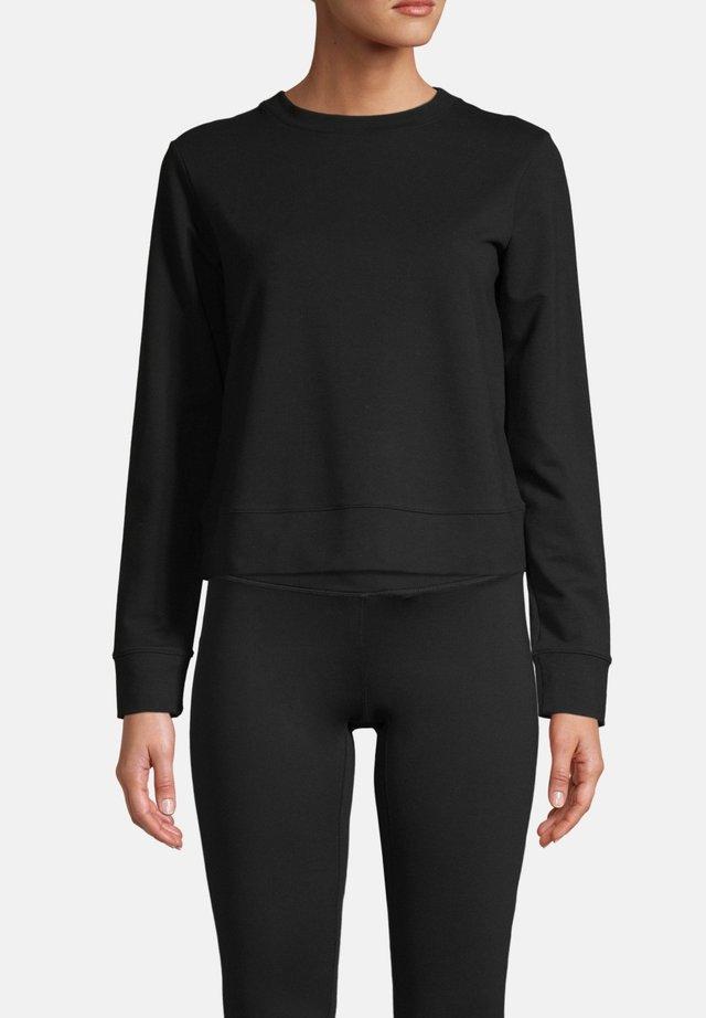 SMOOTH CREW - Langærmede T-shirts - black