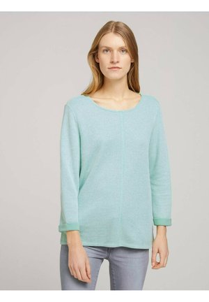 Sweatshirt - soft leaf green melange