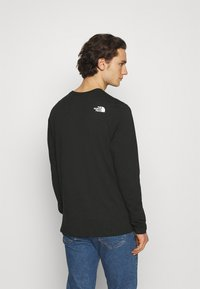 The North Face - SHOULDER LOGO TEE - Long sleeved top - black - 2